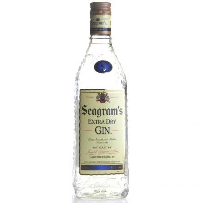 Ginebra Seagrams Extra Dry Gin 70cl