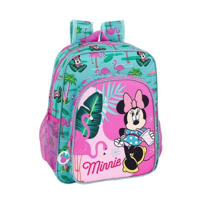 Minnie Mouse Palms Oficial Mochila Escolar Junior 320x120x380mm