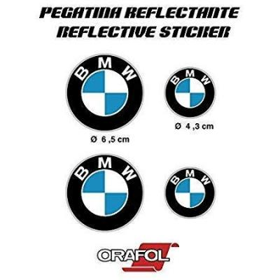 Pegatina Sticker Adesivo Aufkleber Decals Autocollants Compatible Con Bmw Reflectante Moto